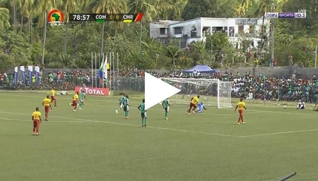 اهداف مباراة الكاميرون و جزر القمر 1-1 تصفيات كأس أمم أفريقيا 2019