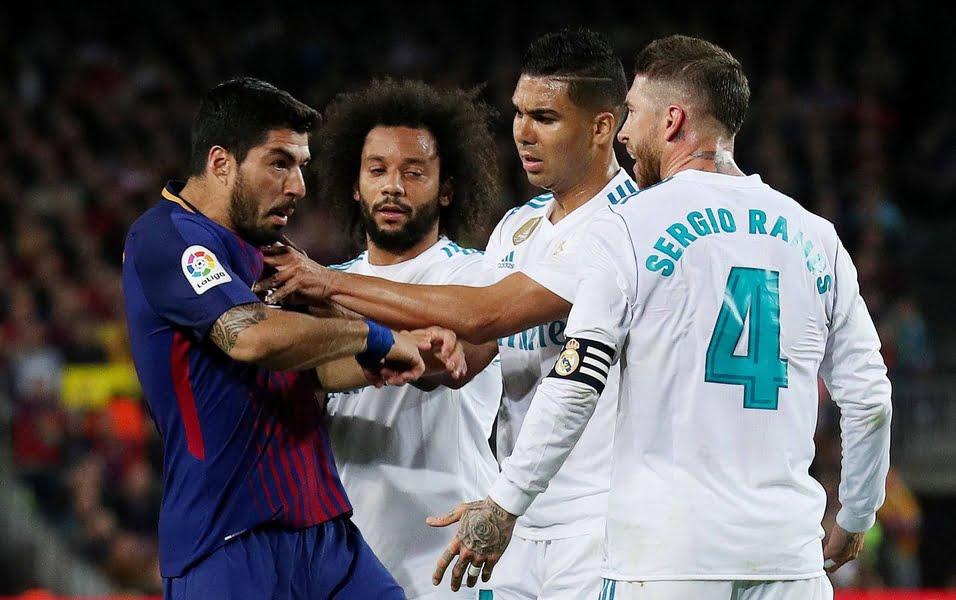 القنوات المجانية الناقلة لمباراة برشلونة وريال مدريد في كلاسيكو الدوري الأسباني غداً