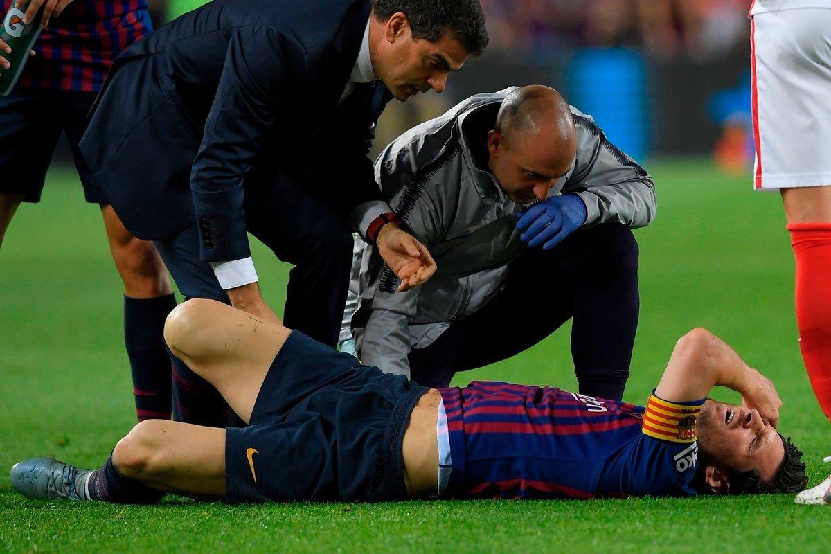 رسميا : كلاسيكو برشلونة وريال مدريد بدون ميسي