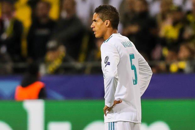 ريال مدريد يعلن إصابة فاران بتمزق عضلي