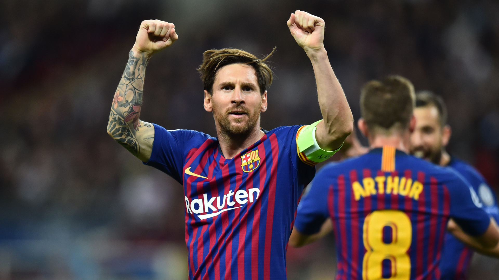 رقم جديد لنجم برشلونة: ميسي يعادل رقم كريستيانو رونالدو بـ 105 هدف