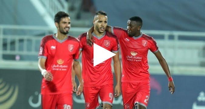 فيديو: يوسف العربي يسجل هاتريك رائع اليوم في الدوري القطري