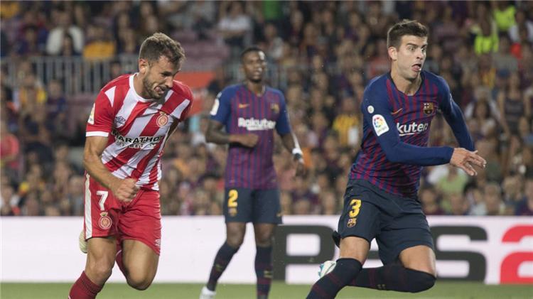 موعد والقناة الناقلة ومعلق مباراة برشلونة وجيرونا في الدوري الإسباني