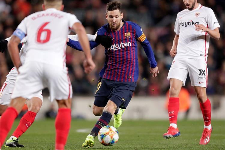 ميسي يوجه رسالة لجماهير برشلونة بعد ريمونتادا إشبيلية ويؤكد: سنقاتل للفوز بالثلاثية
