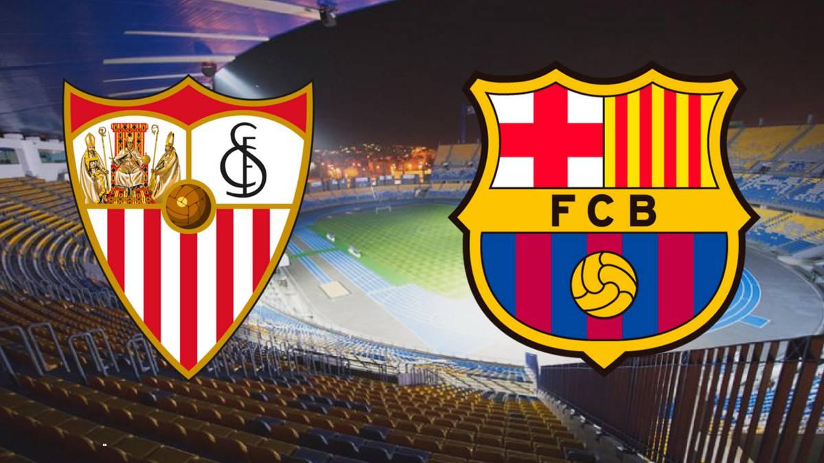 مشاهدة مباراة برشلونة واشبيلية بث مباشر 23-1-2019 كأس ملك إسبانيا