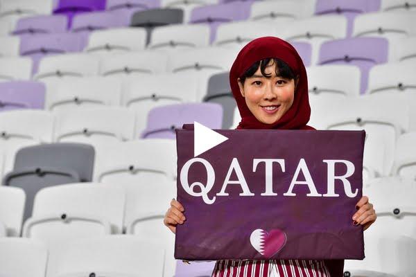 قطر لم تكتفي بتجنيس اللاعبين فقط بل حتى الجمهور