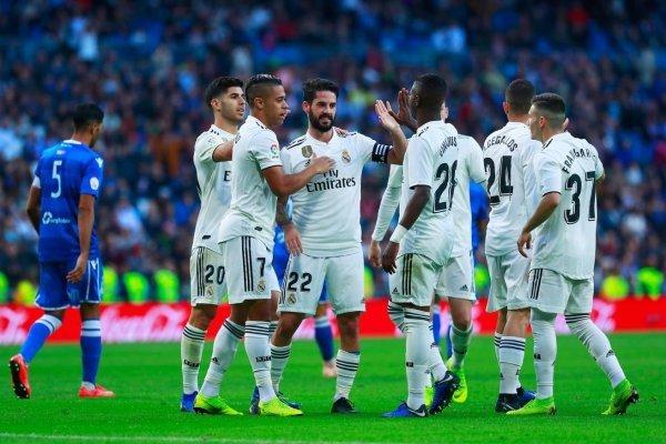 قائمة ريال مدريد لصدام ليجانيس