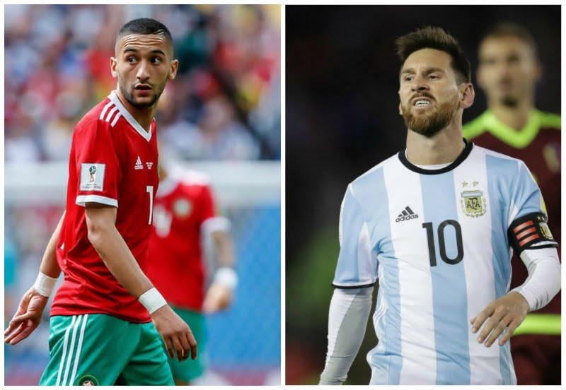 المغرب والارجنتين بث مباشر