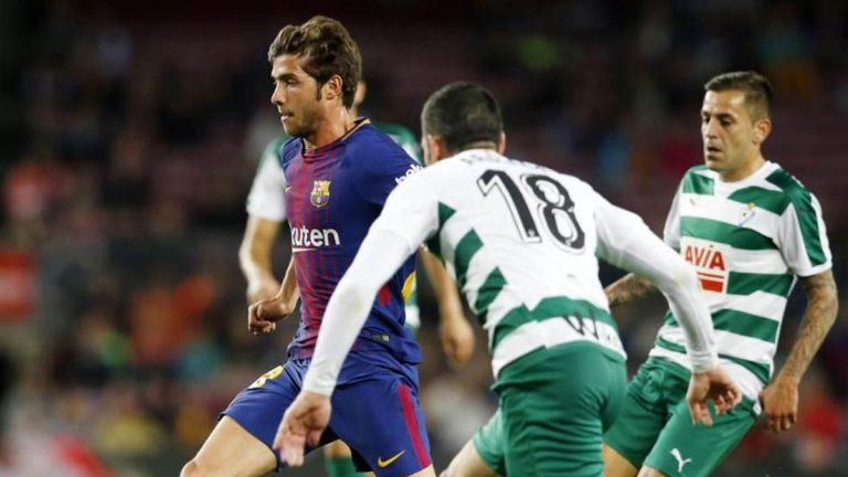القنوات الناقلة لمباراة برشلونة ضد إيبار اليوم في الدوري الإسباني