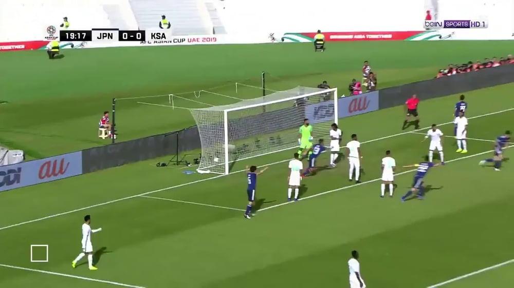 أهداف مباراة اليابان والسعودية