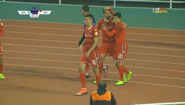 اهداف مباراة النجم الساحلي والرجاء (2-0) البطولة العربية