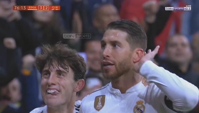 اهداف مباراة ريال مدريد وجيرونا (4-2) كاس ملك اسبانيا