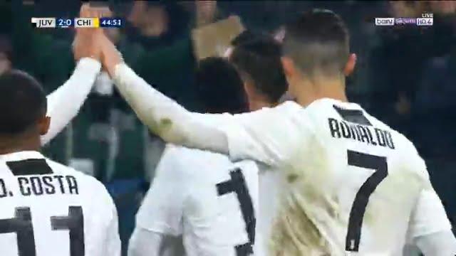 هدف يوفنتوس الثاني ضد كييفو فيرونا