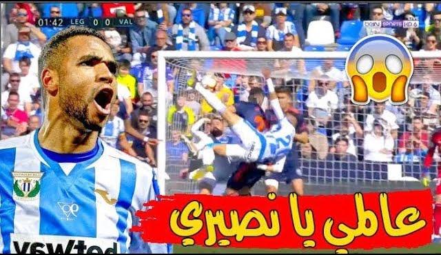يوسف النصيري يقدم مباراة عالمية بكل المقاييس وحارس فالنسيا يحرمه من هاتريك