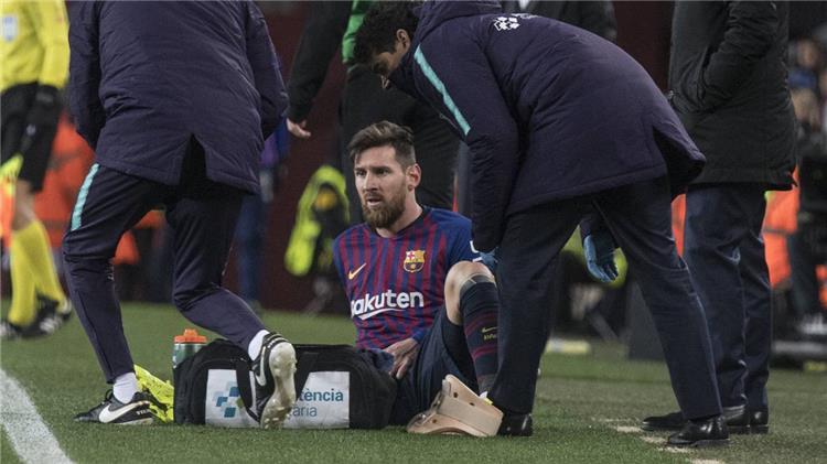 أس تطمئن جماهير برشلونة على ميسي قبل الكلاسيكو
