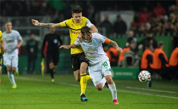 ركلات الترجيح تؤهل فيردر بريمن لربع نهائي كأس ألمانيا على حساب دورتموند