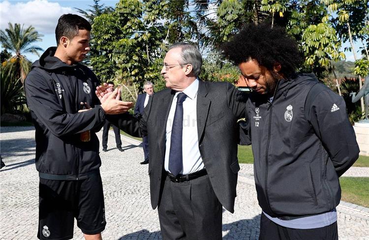 بيريز يوافق على رحيل مارسيلو إلى يوفنتوس ويحدد السعر
