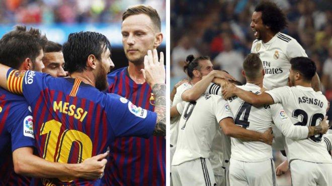 التشكيل المتوقع لكلاسيكو ريال مدريد وبرشلونة.. مارسيلو أم ريجولين؟