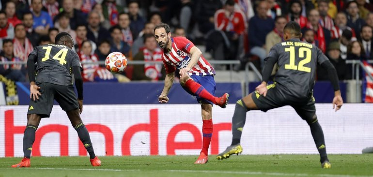 أتلتيكو مدريد ضد يوفنتوس.. الروخى بلانكوس يقتنص فوزا مثيرا بدورى الأبطال