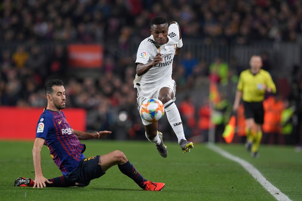 التعادل يحسم مواجهة برشلونة وريال مدريد في نصف نهائي الكأس