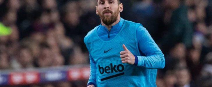 شكوك حول إمكانية مشاركة ميسي مع برشلونة ضد أتليتك بلباو
