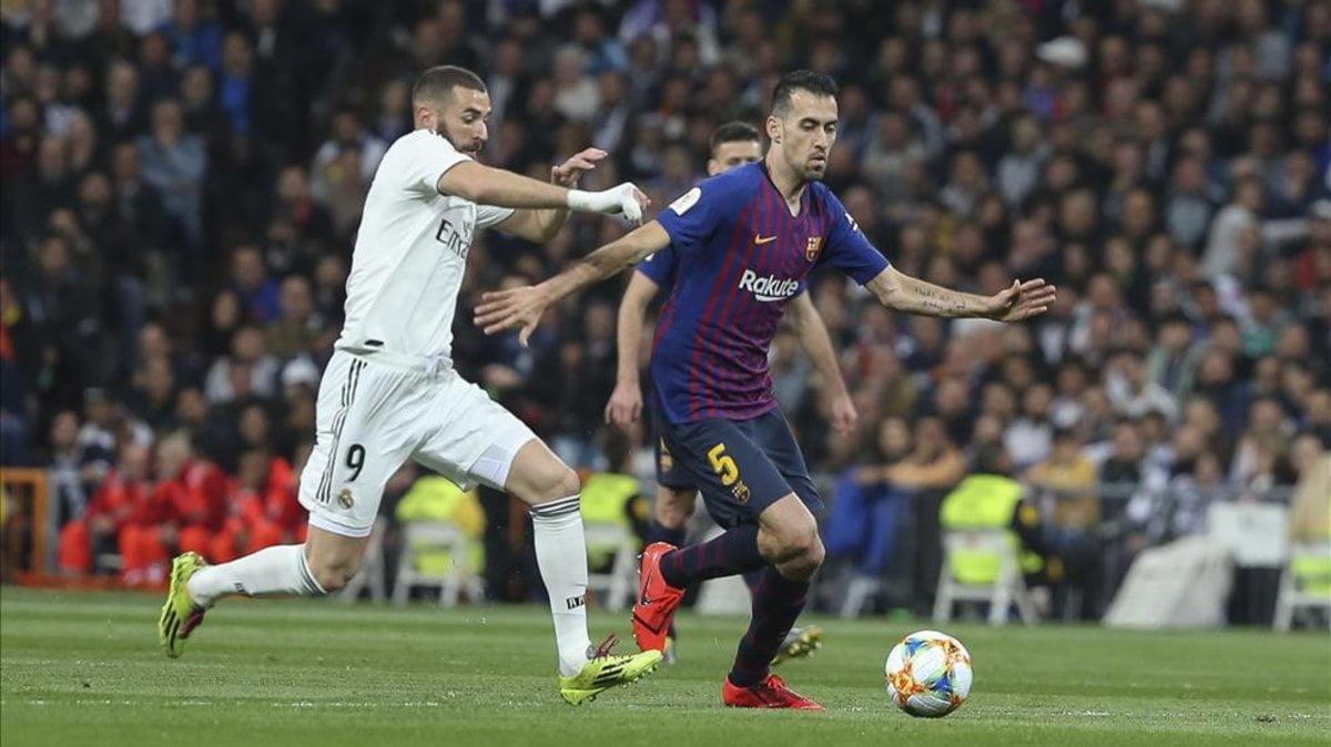 اعتراف مثير من بوسكيتس بعد اقصاء ريال مدريد من الكأس