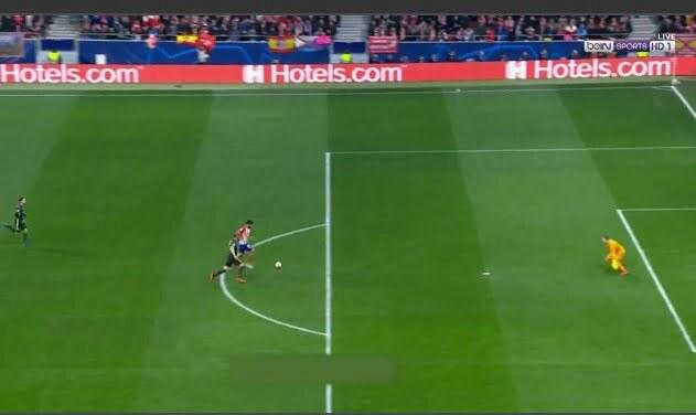 دييجو كوستا يهدر انفراد بطريقه لا تصدق في مباراة اتلتيكو مدريد ضد يوفنتوس