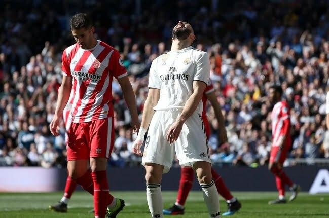 جيرونا يهين ريال مدريد في البرنابيو ويحقق فوزا مثيرا
