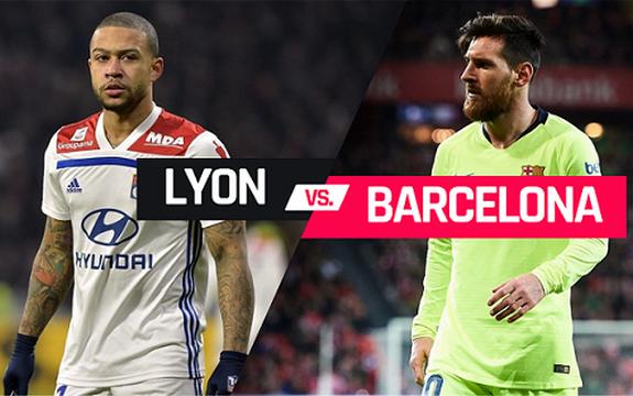 القنوات المفتوحة الناقلة لمباراة برشلونة وليون اليوم 19-2-2019 في دوري أبطال أوروبا