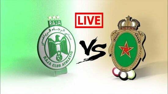 مشاهدة مباراة الرجاء والجيش الملكي بث مباشر 27-2-2019 الدوري المغربي