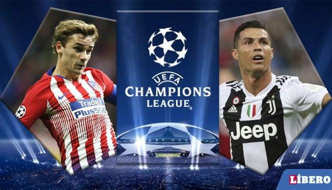 أتلتيكو مدريد ضد يوفنتوس .. التشكيل الرسمى لقمة ليلة دورى أبطال أوروبا