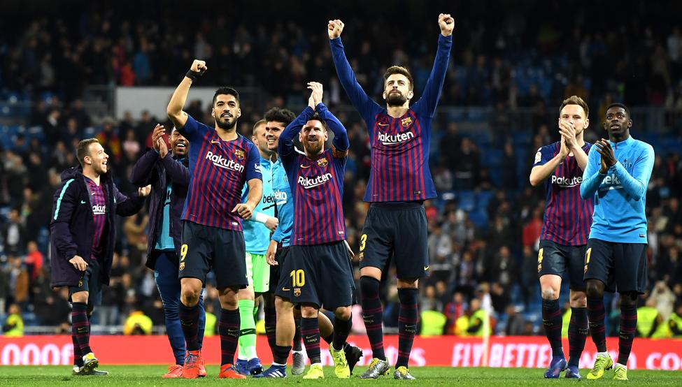 برشلونة يفعلها ويتفوق على ريال مدريد تاريخياً