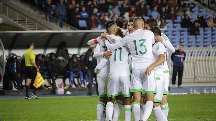 """منتخب الجزائر يقتل حلم جامبيا بهدف """"عبيد"""" في تصفيات أمم إفريقيا"""