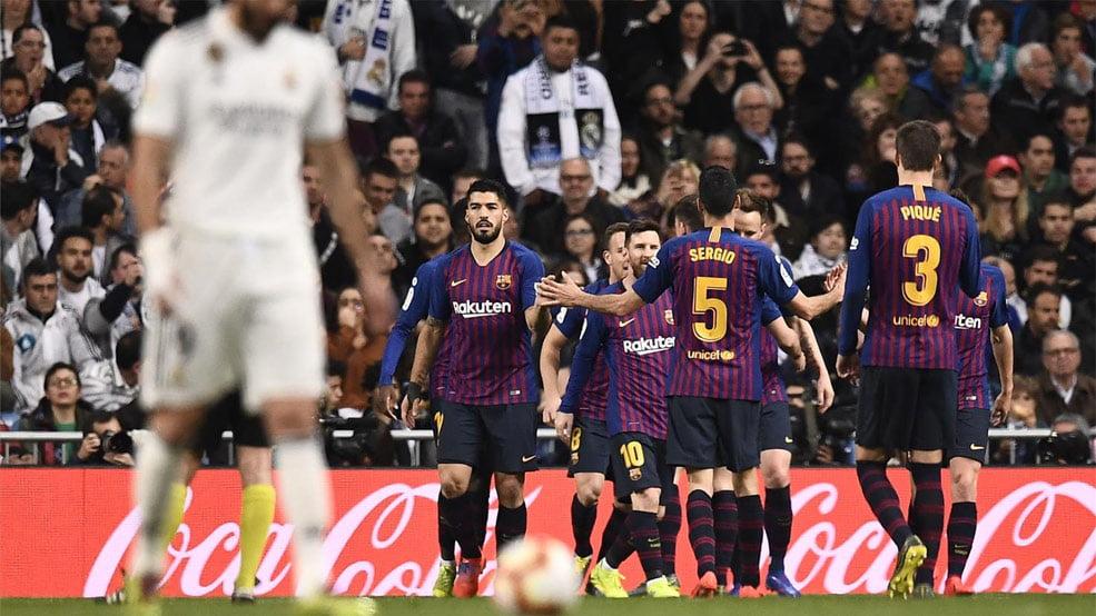 الريال ضد برشلونة.. البارسا يكرر فوزه على الملكي ويقترب من حسم الليجا