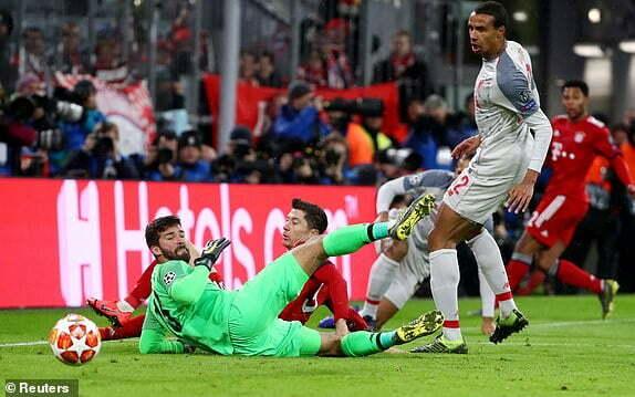 ليفربول يفوز على بايرن ميونيخ ويتأهل لربع نهائي دوري ابطال اوروبا