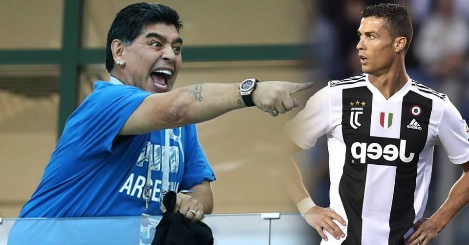 """مارادونا: ميسي فخر لكل الأرجنتينيين، أما كريستيانو فهو """"حيوان"""""""