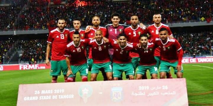 """تراجع المنتخب المغربي في تصنيف """"الفيفا"""""""