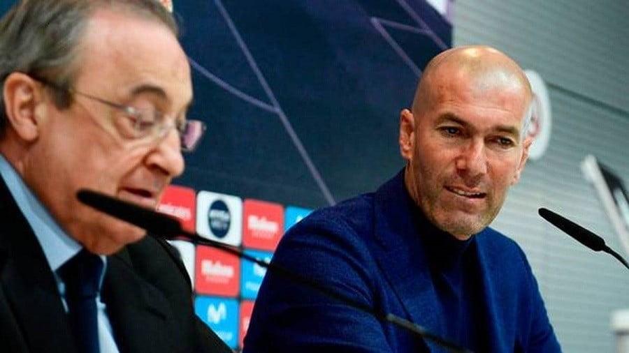 3 وعود ذهبية من بيريز لزيدان من أجل راحته في ريال مدريد