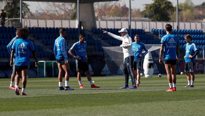 4 غيابات في تدريبات ريال مدريد قبل لقاء سيلتا فيجو