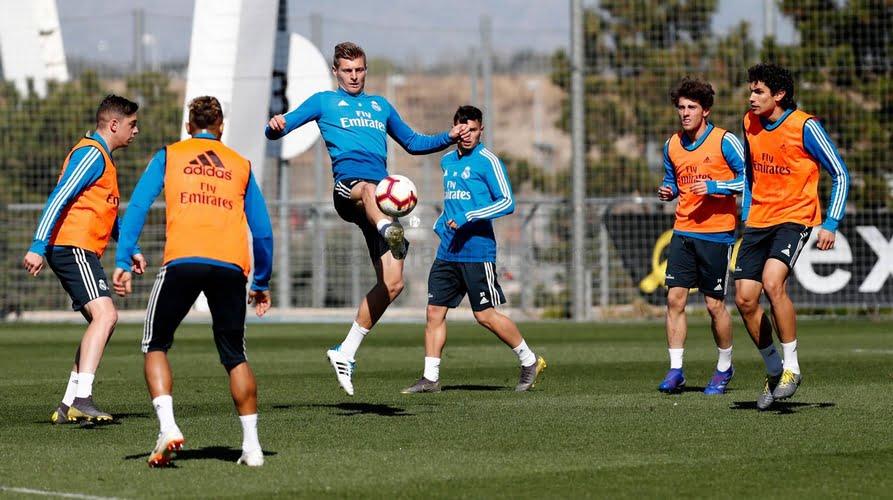 3 غيابات في تدريبات ريال مدريد قبل مواجهة بلد الوليد