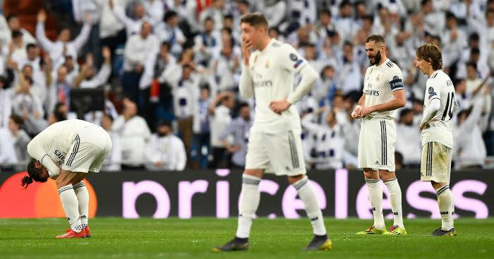خسائر مالية كبيرة لريال مدريد بعد الوداع المبكر لدورى الأبطال