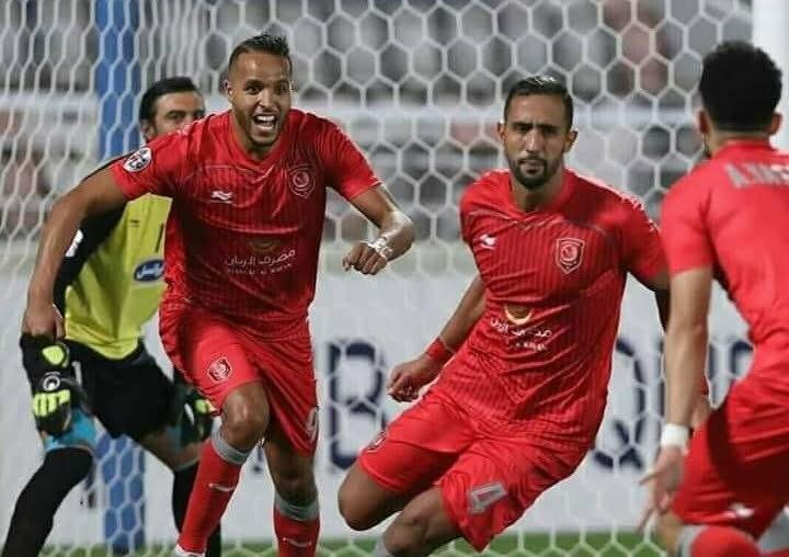 هدفي يوسف العربي في مباراة الدحيل ضد السد
