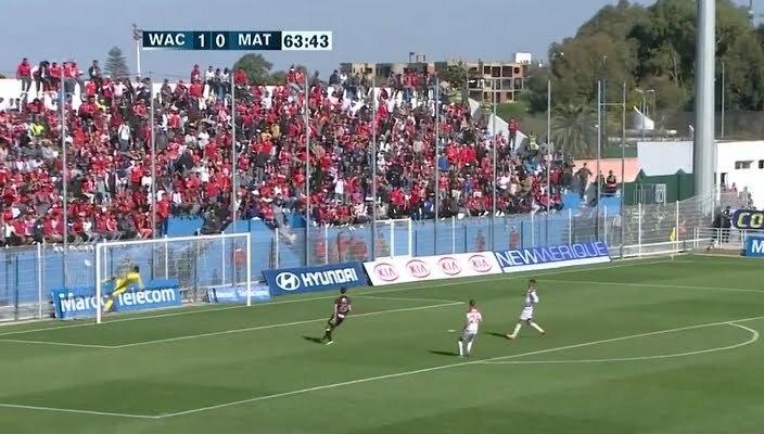 هدف المغرب التطواني الأول في مرمى الوداد الرياضي