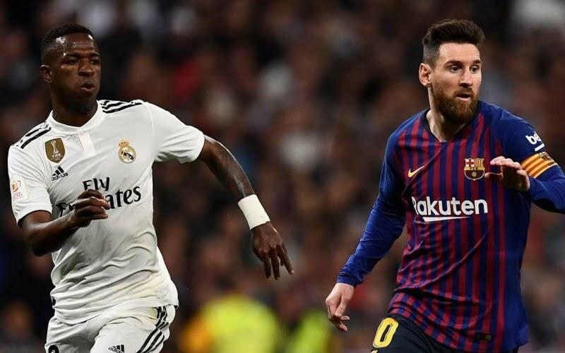 موعد كلاسيكو رد الاعتبار بين ريال مدريد وبرشلونة والقنوات الناقلة