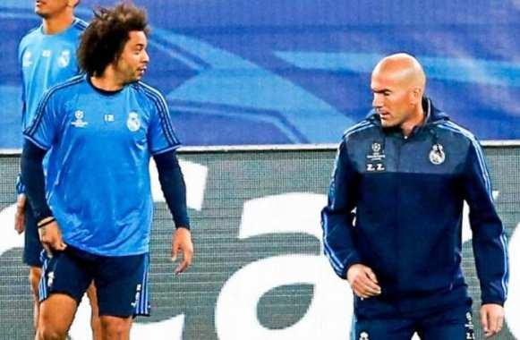 زيدان يحسم مصير مارسيلو مع ريال مدريد