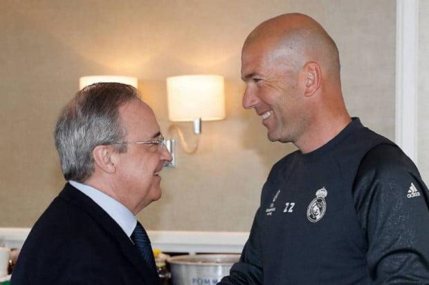 هكذا رد زيدان على عرض ريال مدريد