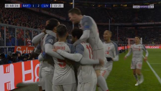 اهداف مباراة ليفربول وبايرن ميونخ (3-1) دوري ابطال اوروبا