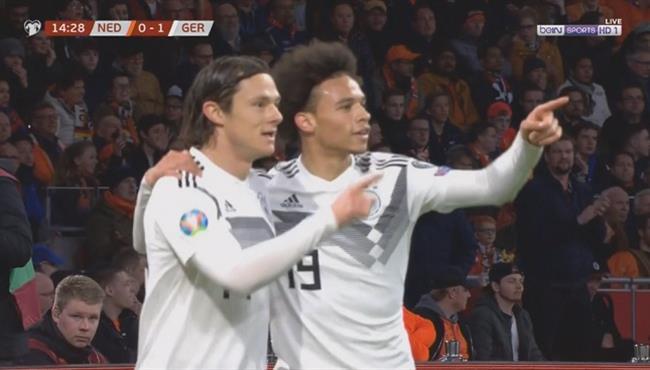فيديو: هدف المانيا الاول في مرمي هولندا - تصفيات يورو 2020
