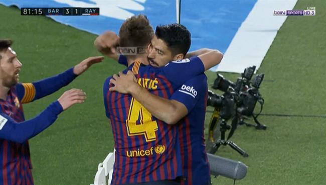 اهداف مباراة برشلونة ورايو فاليكانو (3-1) الدوري الاسباني
