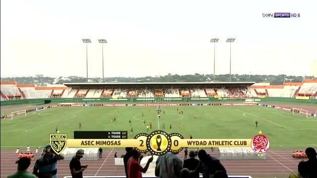 أهداف وملخص مباراة الوداد واسيك ميموزا 0-2 دوري أبطال أفريقيا